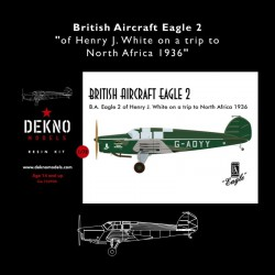 British Aircraft Eagle 2 -...