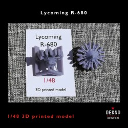 1/48 Lycoming R-680
