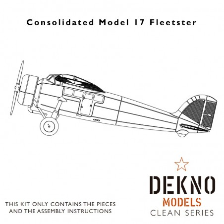 Consolidated Model 17 Fleetster - clean