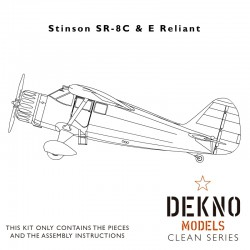 Stinson SR-8C Reliant - Clean