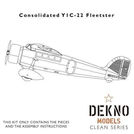 Consolidated Y1C-22 Fleetster - Clean