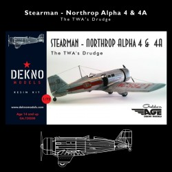 Stearman - Northrop Alpha 4...