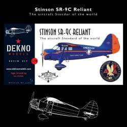 Stinson SR-9C Reliant -...